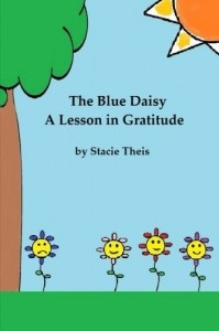 The blue daisy cover