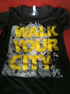 walkyourcity t-shirt