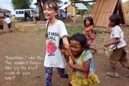 Tanya Lawrence - Restore One volunteers