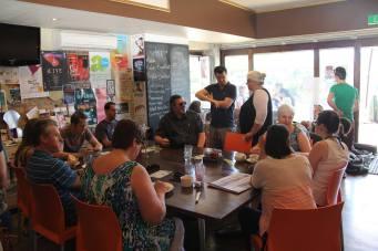 Naomi Jaques - Mosaic Cafe volunteers